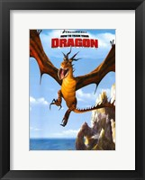 Framed How to Train Your Dragon - style D