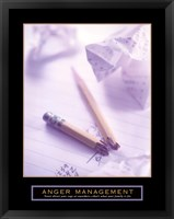 Framed Anger Management - Broken Pencil