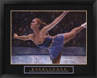 Framed Excellence - Ice Skater