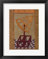 Sextant, (The Vatican Collection) Framed Print
