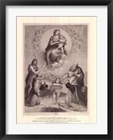 Framed Madonna de Foligno, c.1511, (The Vatican Collection)