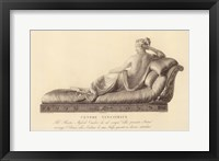 Reclining Lady (verso), The Vatican Collection Framed Print