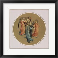 Framed Angels Playing Musical Instruments, Vatican Collection