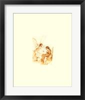 Framed Angel of Annunciation
