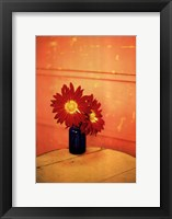 Blue Jar Framed Print