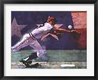 Framed Olympic Baseball