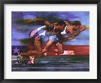 Olympic Track and Field Framed Print