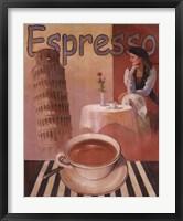 Framed Espresso - Pisa