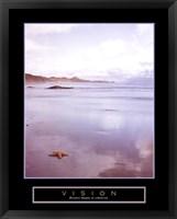 Framed Vision - Foggy Beach