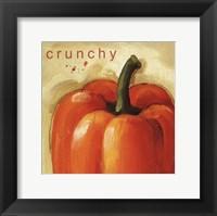 Crunchy Framed Print