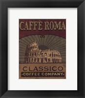 Coffee Blend Label I Framed Print