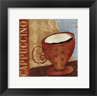 Jazzy Coffee I Framed Print