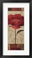 Floral Romance I Framed Print