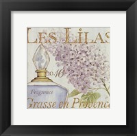 Fleurs and Parfum IV Framed Print