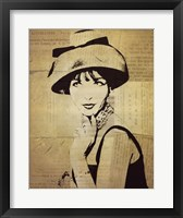 Fashion News I Framed Print