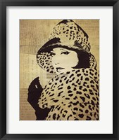 Fashion News II Framed Print