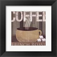 French Roast Framed Print