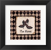 The Shoes Framed Print