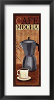 Cafe Mocha Framed Print