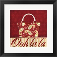 Ooh La La Purse II Framed Print