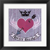 Heart Breaker Framed Print