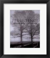 Persistance Framed Print