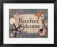 Barefeet Framed Print