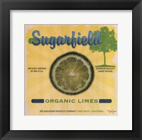Framed Sugarfield Limes
