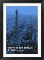 Framed Paris (City.Quote)