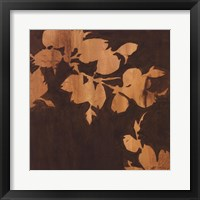 Falling Leaves II Framed Print