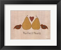 Framed Perfect Pears