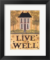 Framed Live Well House