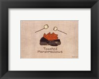Framed Toasted Marshmallows