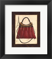 Fashion Purse I Framed Print