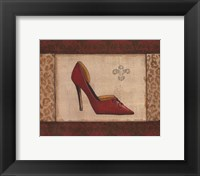Fashion Shoe I Framed Print