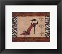 Fashion Shoe II Framed Print