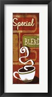 Retro Coffee IV Framed Print