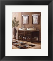 Bath Still Life II - mini Framed Print