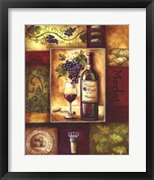 Valley Wine II Framed Print