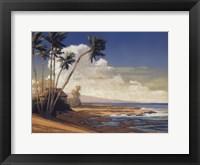 Kona Coast I - petite Framed Print