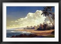 Kona Coast II Framed Print