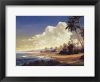Kona Coast II - petite Framed Print