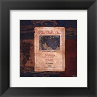 Gamay Wine Label Framed Print