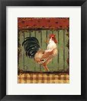 Rooster Portraits I Framed Print