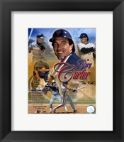 Framed Gary Carter - (4 Team) Legends