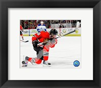Framed Patrick Kane 2009-10 Action