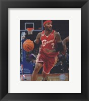 Framed Mo Williams 2009-10 Action