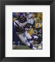 Framed Sidney Rice 2009 Action