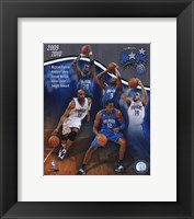 Framed 2009-10 Orlando Magic Team Composite