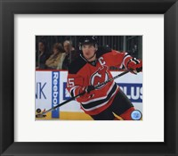 Framed Jamie Langenbrunner 2009-10 Action